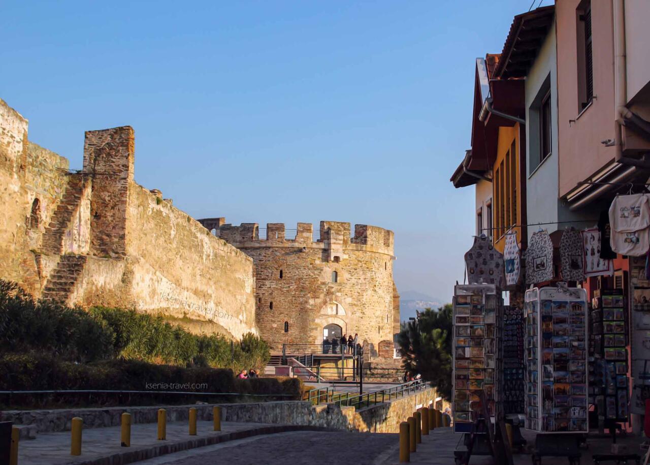 башня тригониу, достопримечательности города Салоники
