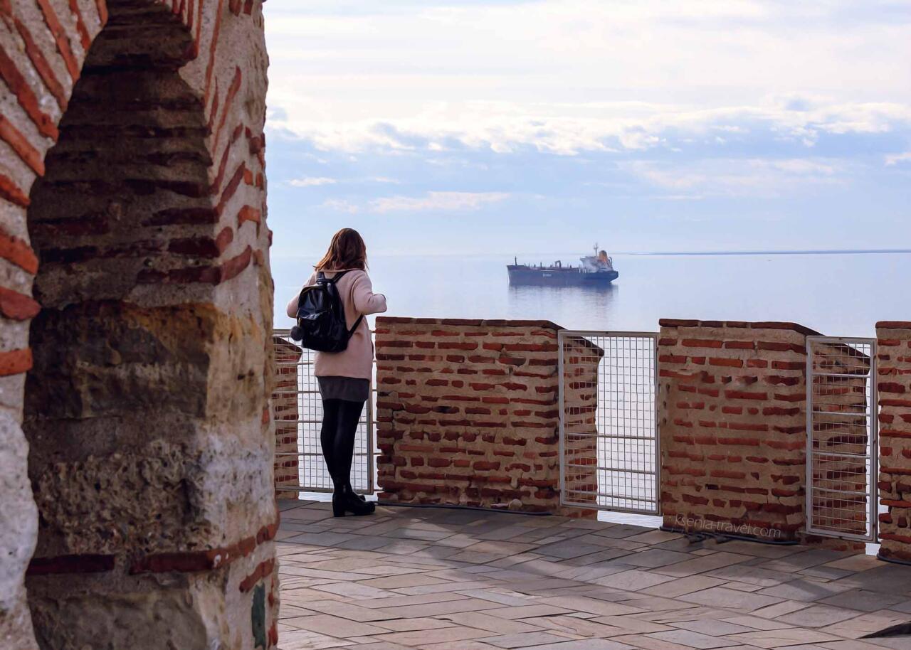 Обзорная площадка Белой башни в Салониках