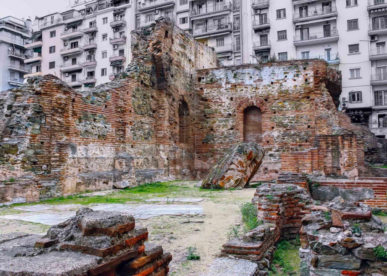дворец императора Галерия, в городе Салоники