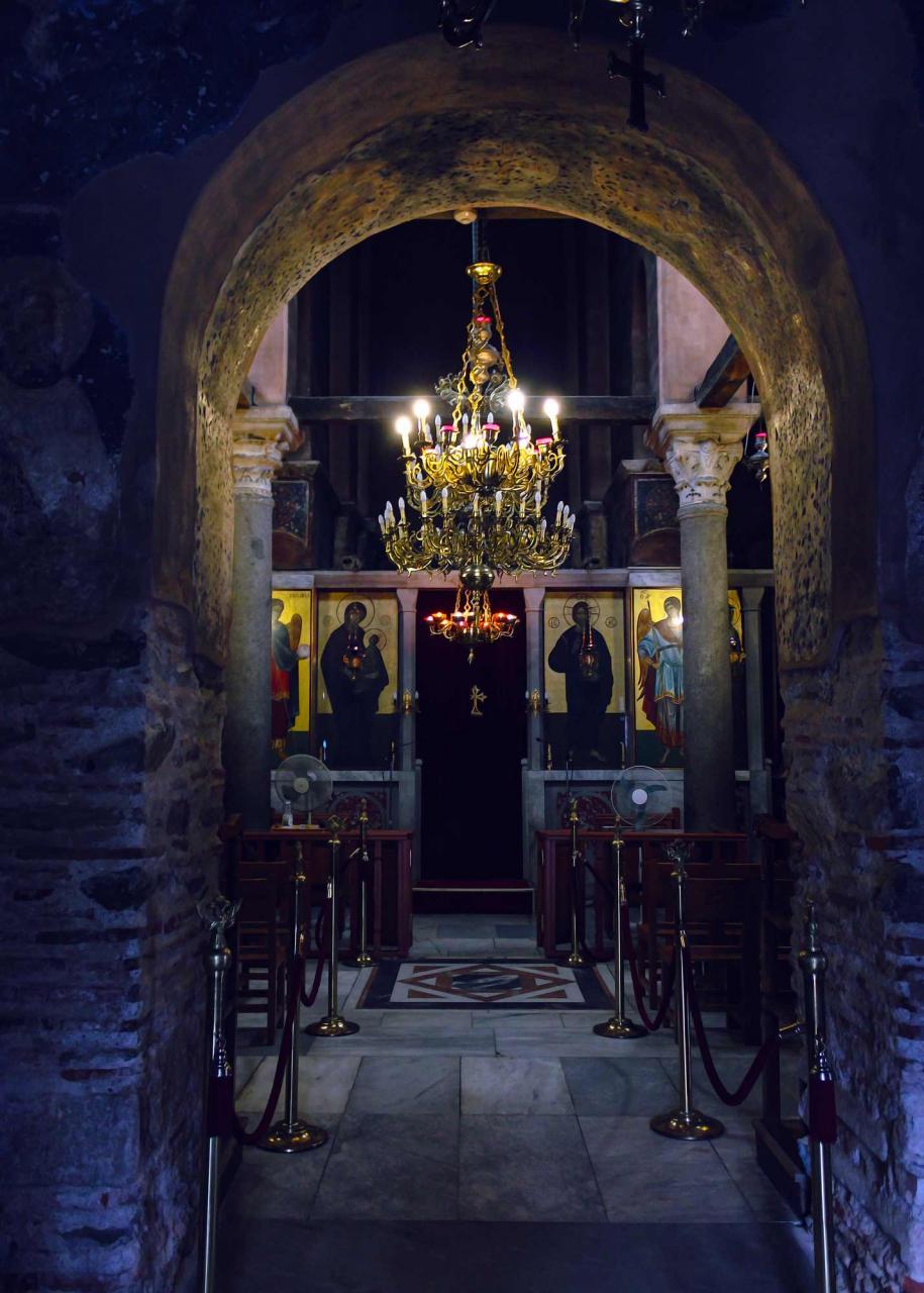 храм 12 апсстолов, достопримечательности Салоники