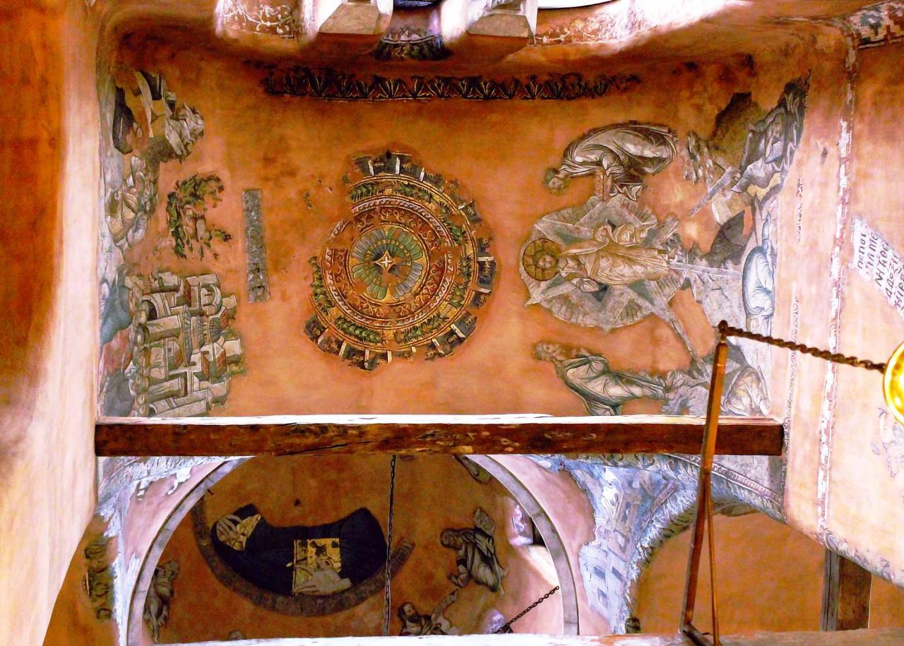 мозаика храма 12 апостолов в городе Салоники