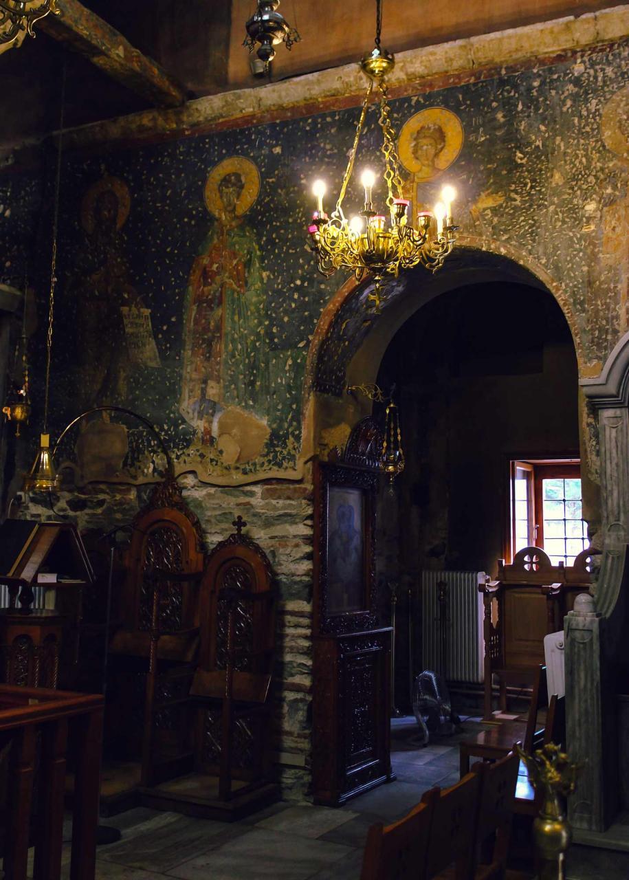 роспись храма 12 апостолов, достопримечательности Салоники