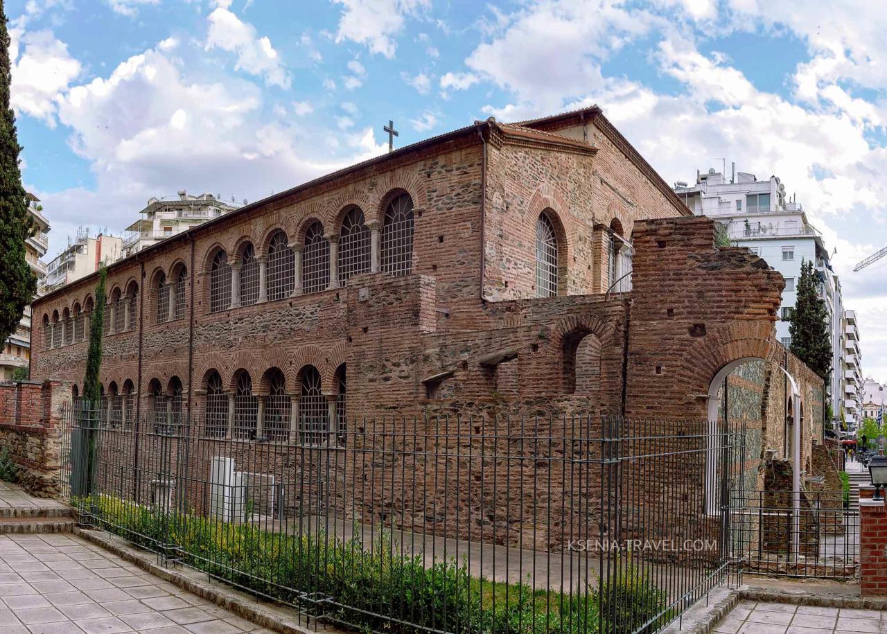 Базилика Панагии Ахиропиитос, Салоники
