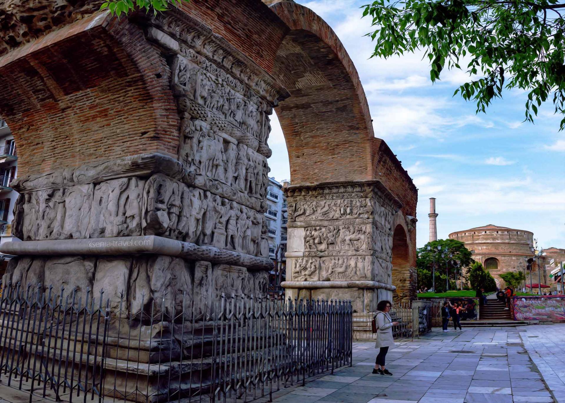 арка галерия, достопримечательности Салоники