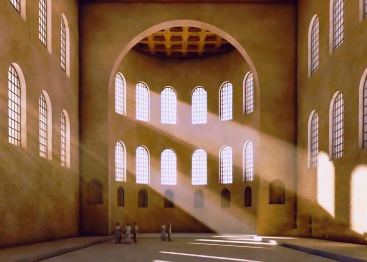 Базилика дворца Галерия