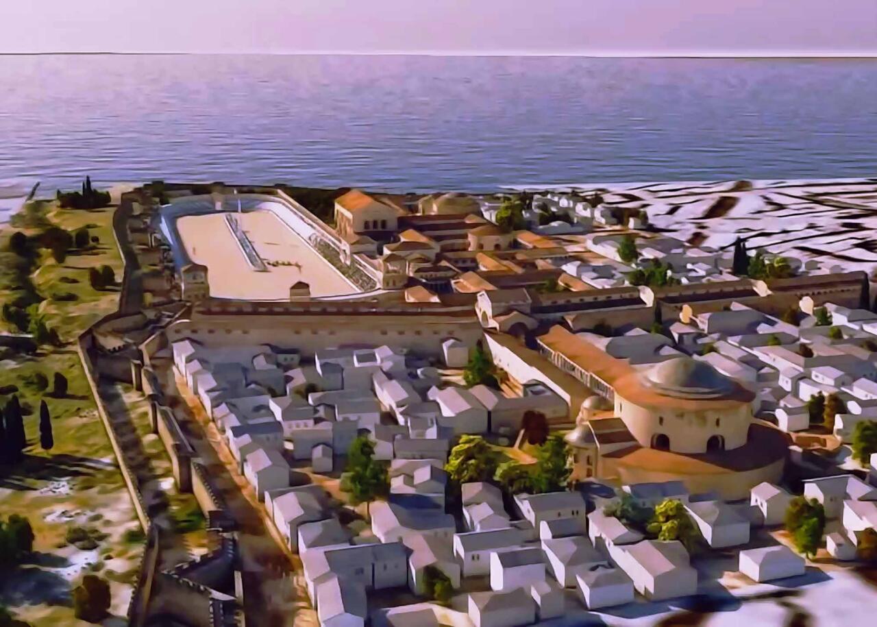 дворец императора галерия, достопримечательности города Салоники