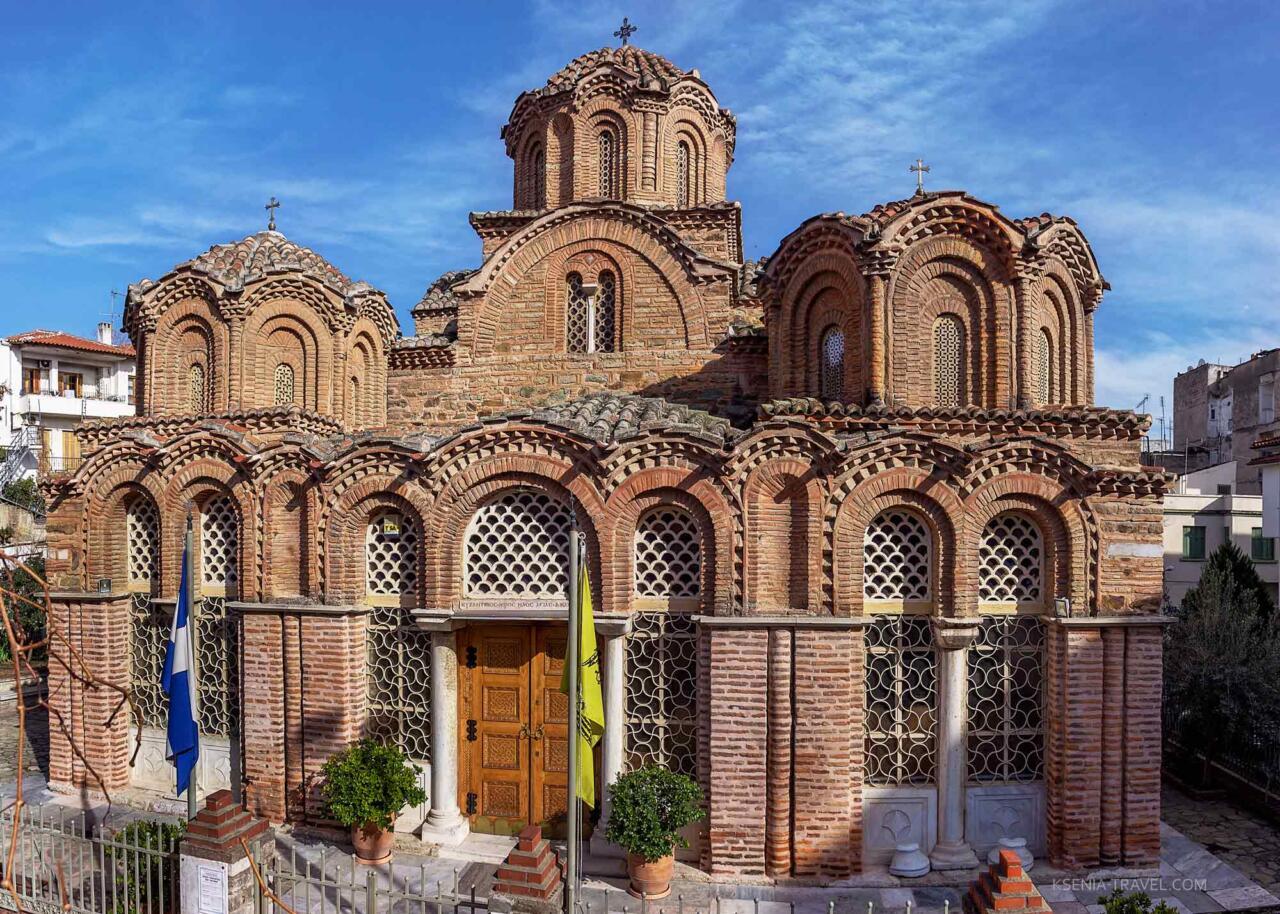 Храм Святой Екатерины, святыни Салоники