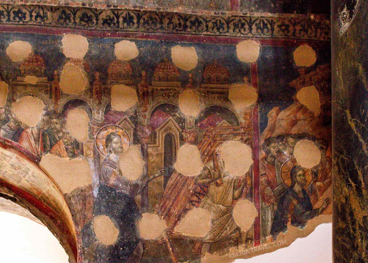храм святой Екатерины, достопримечательности Салоники