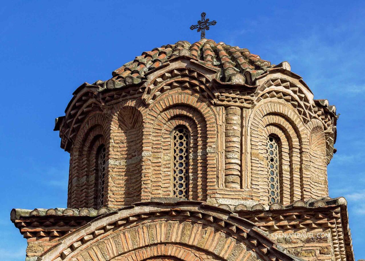 Купол церкви Святой Екатерины в Салониках