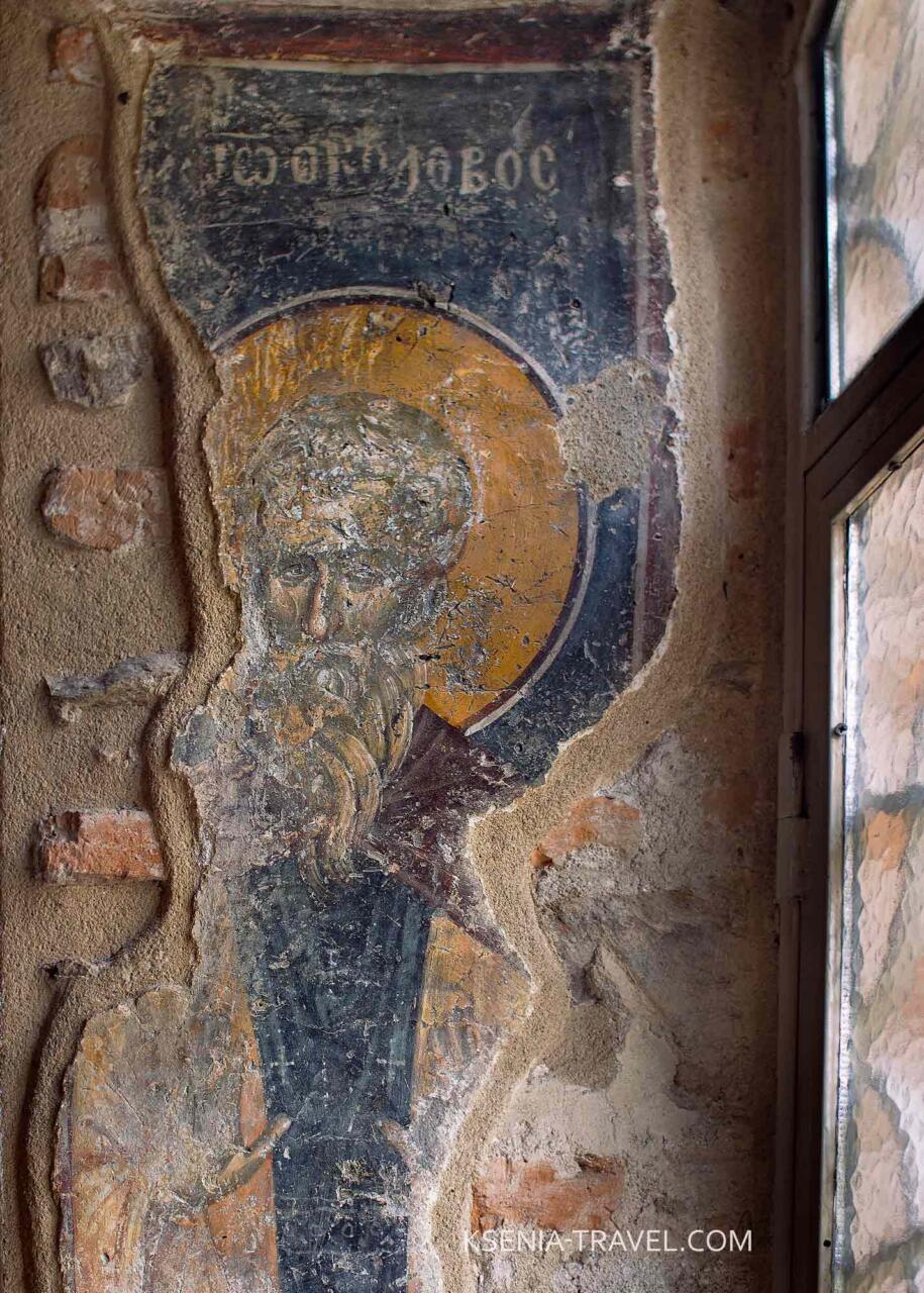 Фрески храма Святой Екатерины в городе Салоники