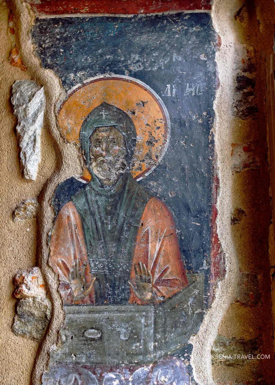 Роспись в храме Святой Екатерины, Салоники