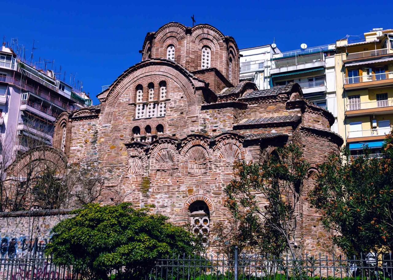 Церковь Святого Пантелеймона, достопримечательности Салоники