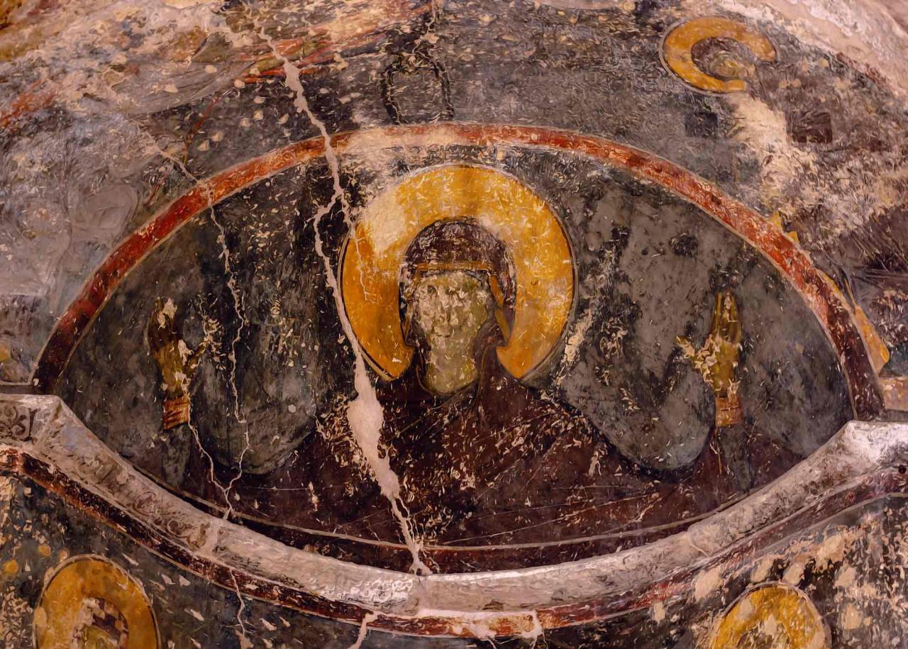 фрески Церкови Святого Пантелеймона, достопримечательности Салоники
