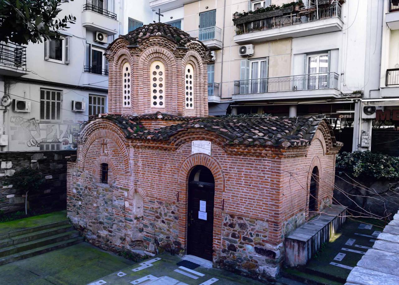 храм Преображения Спасителя в Салониках