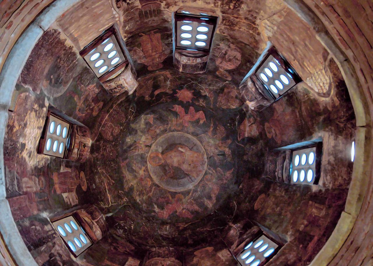 фрески храма Преображения Спасителя, достопримечательности Салоники
