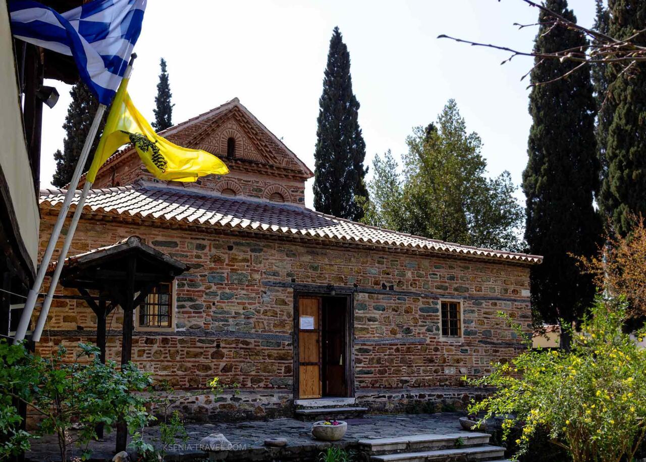 Церковь святого николая орфаноса в Салониках
