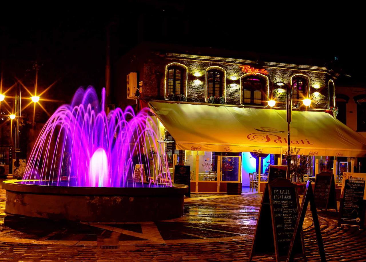 район Лададика, ночные Салоники, экскурсии по Салоникам