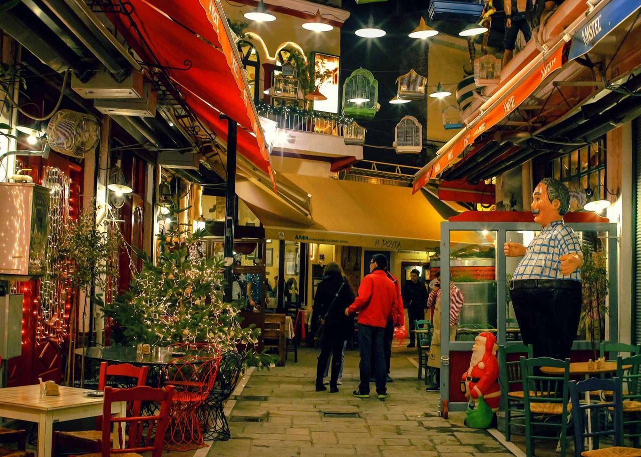 ночная жизнь в Салониках, ночные Салоники, экскурсии по Салоникам