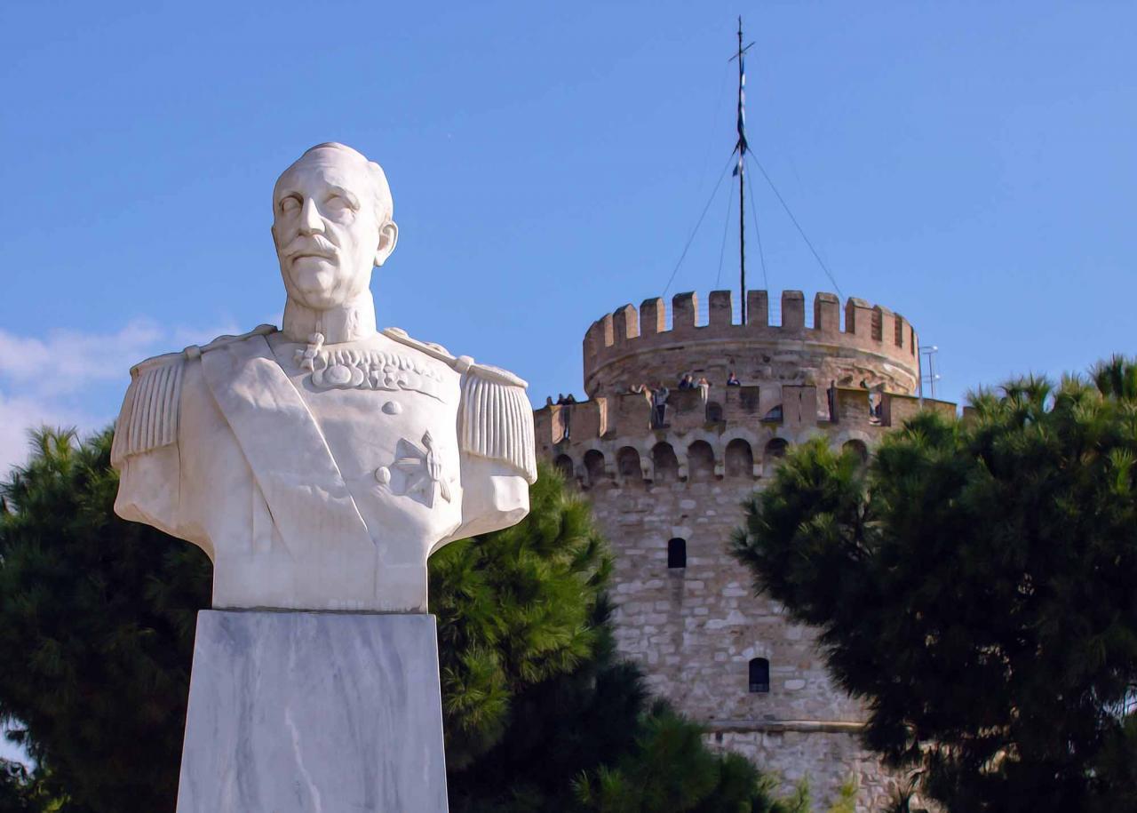 памятник Николаос Вотсис, достопримечательности Салоники