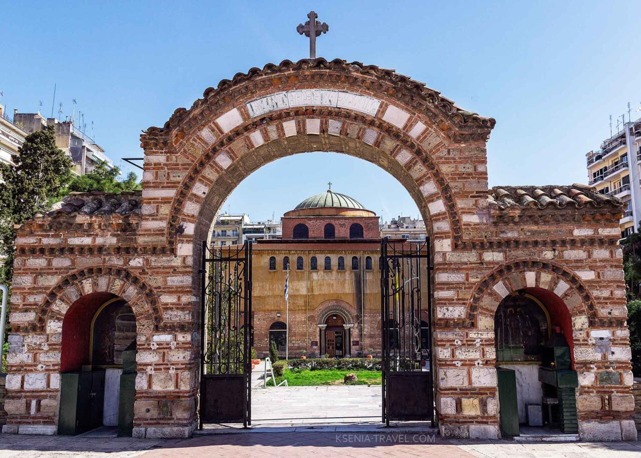 Собор Святой Софии, святыни Салоники