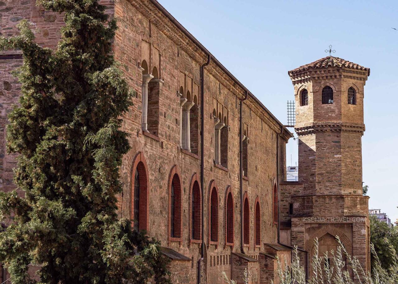 Фото храма Святой Софии в Салониках