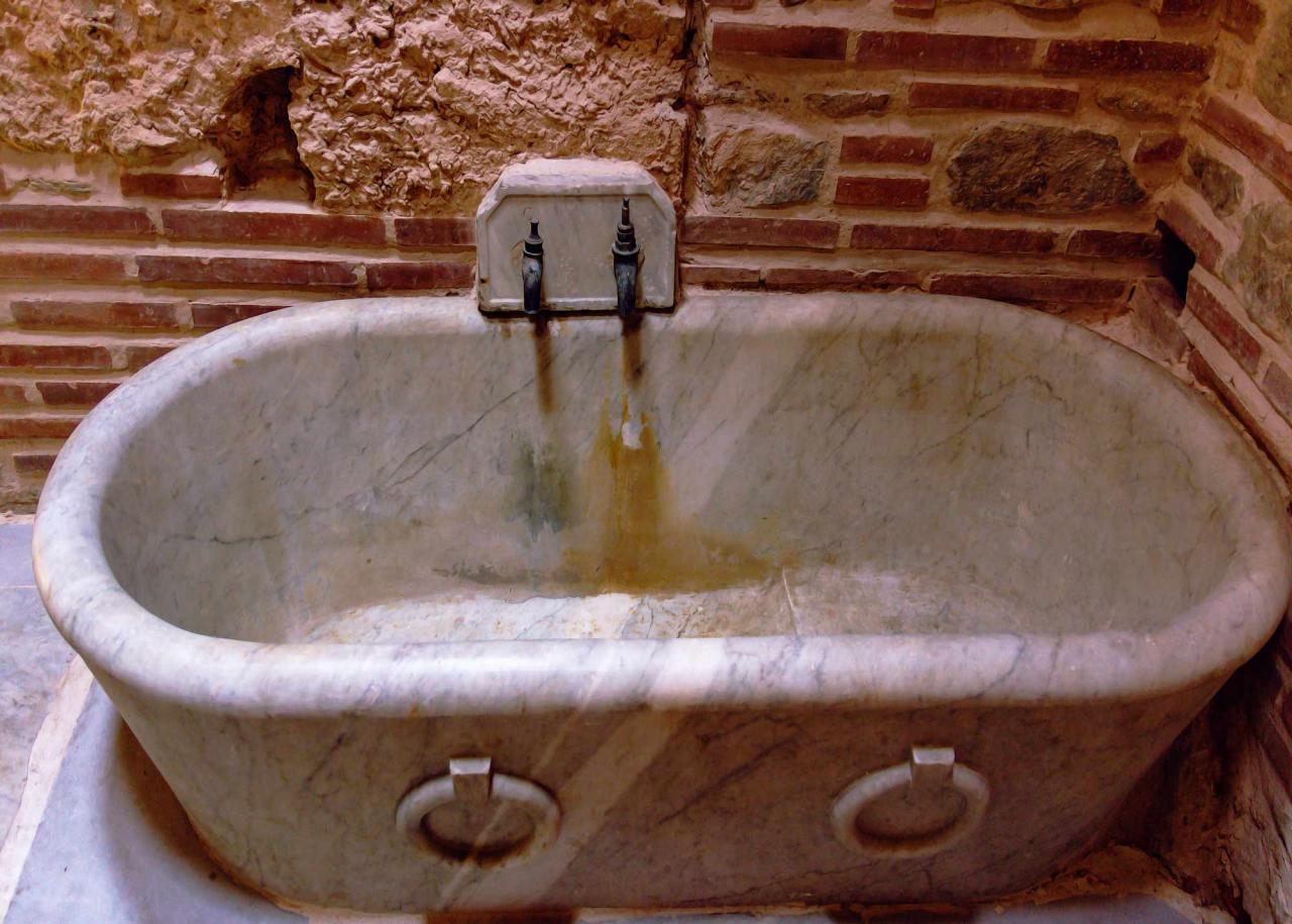 византийкие бани, достопримечательности Салоники