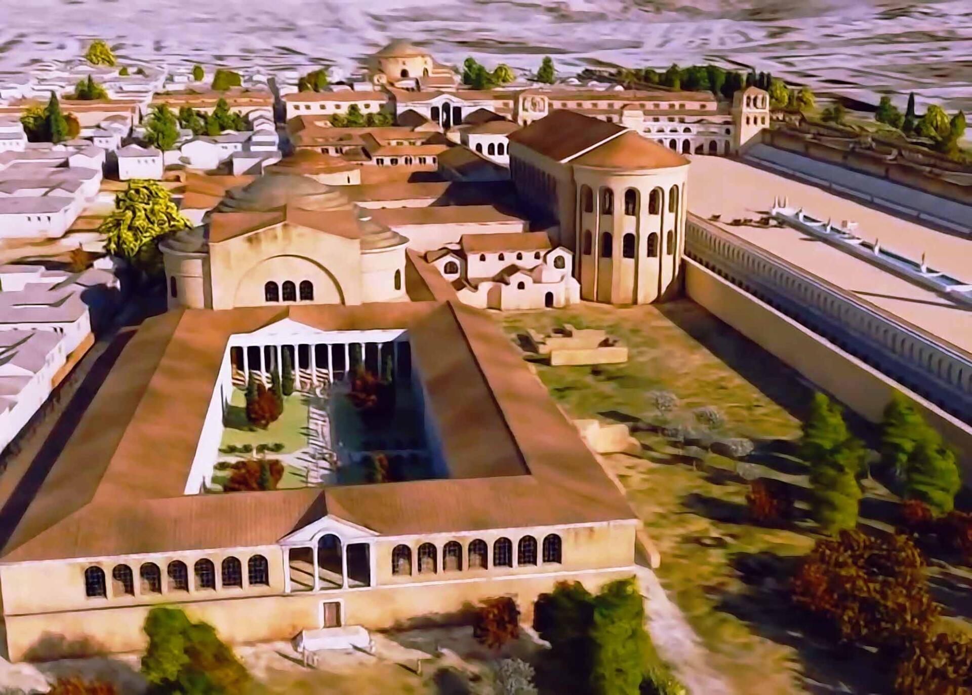 Дворец императора Галерия
