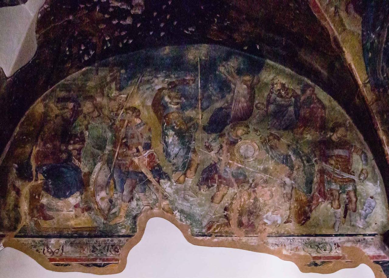 фрески церкви Пророка Илии, достопримечательности Салоники