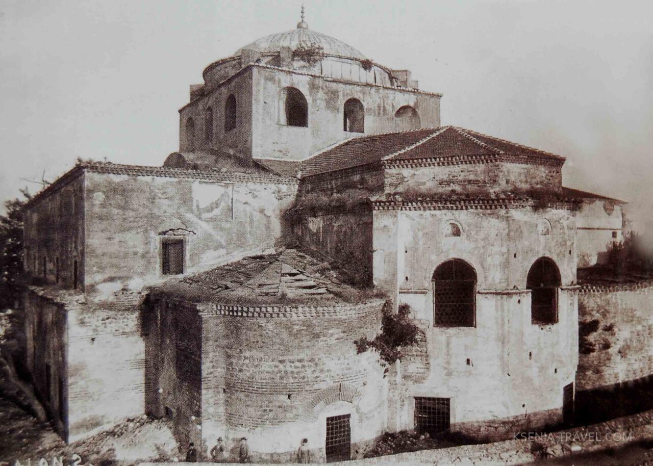 фото храма Айя-София, Салоники