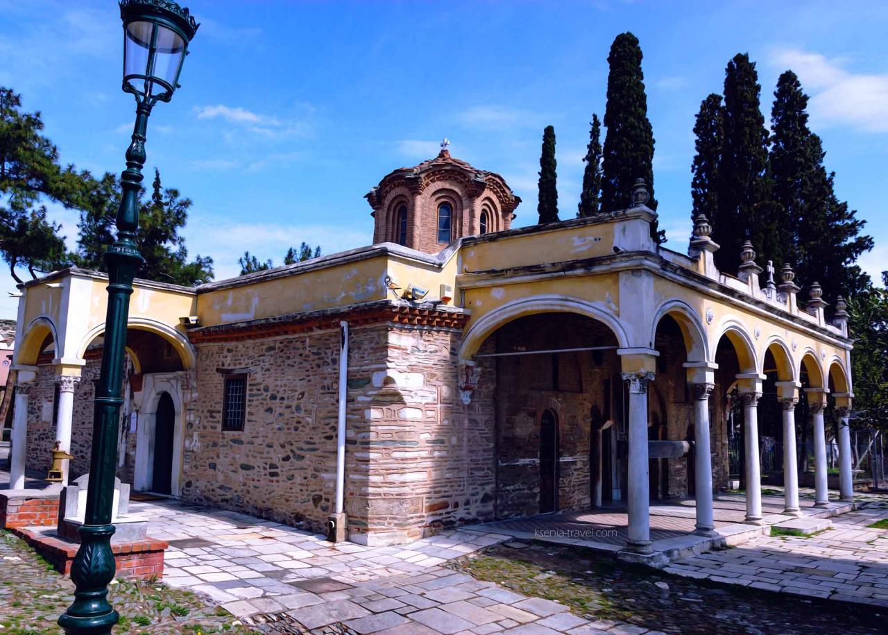 Патриарший монастырь Влатадон, достопримечательности Салоники