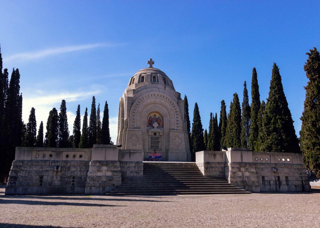 экскурсия на военный некрополь Зейтенлик, экскурсии по Салоникам