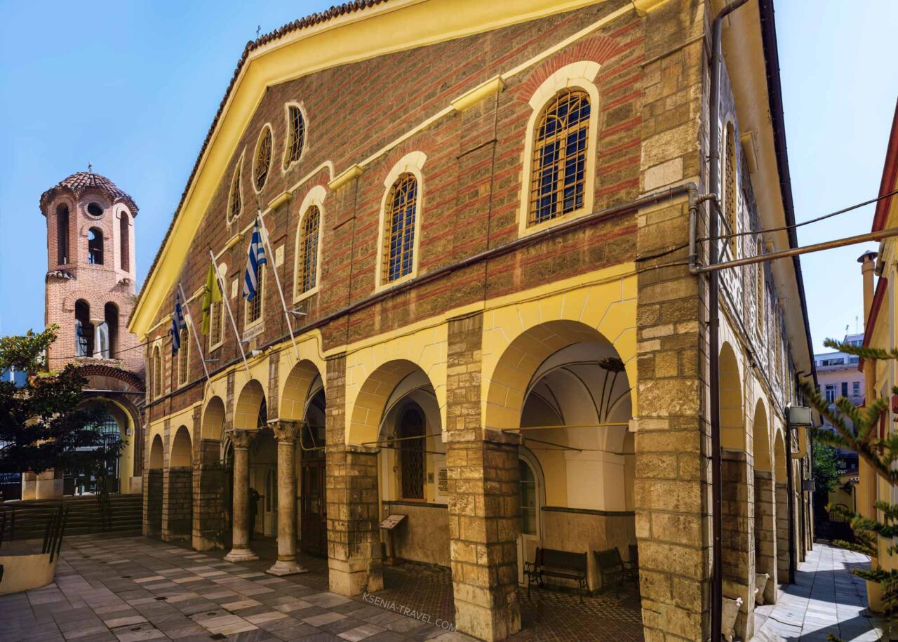 Церковь Святого Мина, достопримечательности Салоники