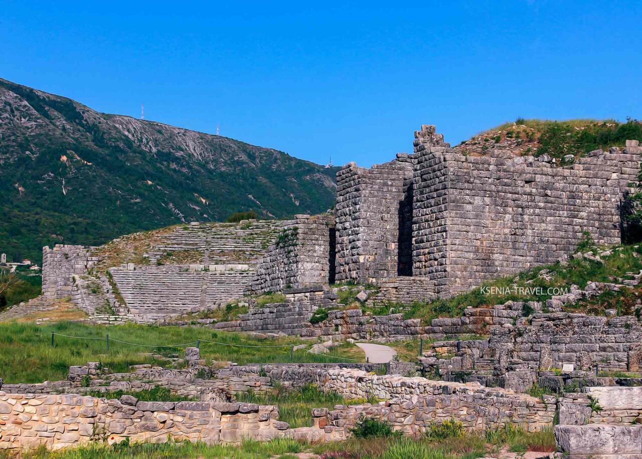 театр в Додони, древнейшее сятилище Греции
