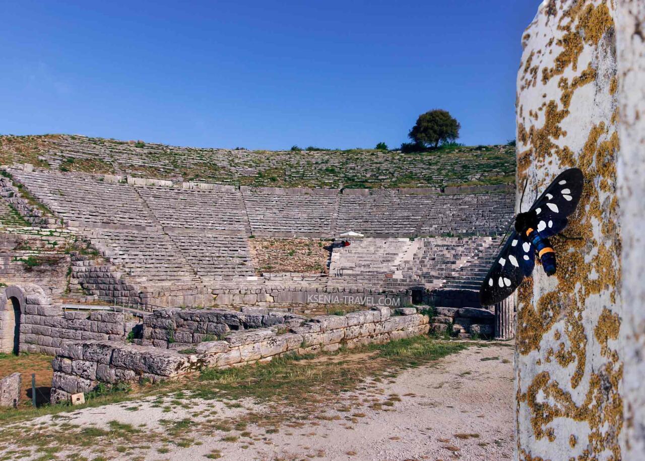 театр в Додони, экскурсии по северной Греции с индивидуальным гидом