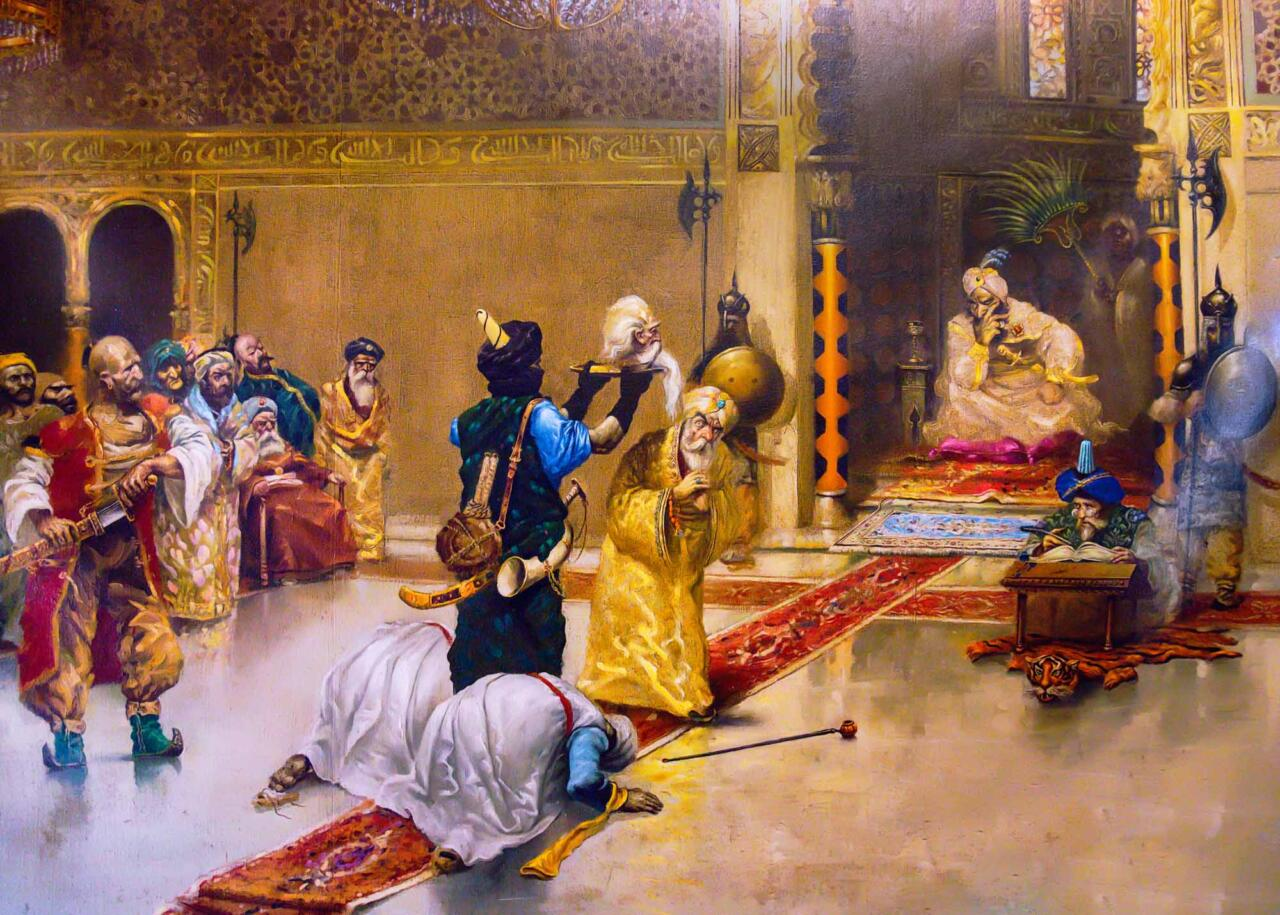 картина из музея Али Паши