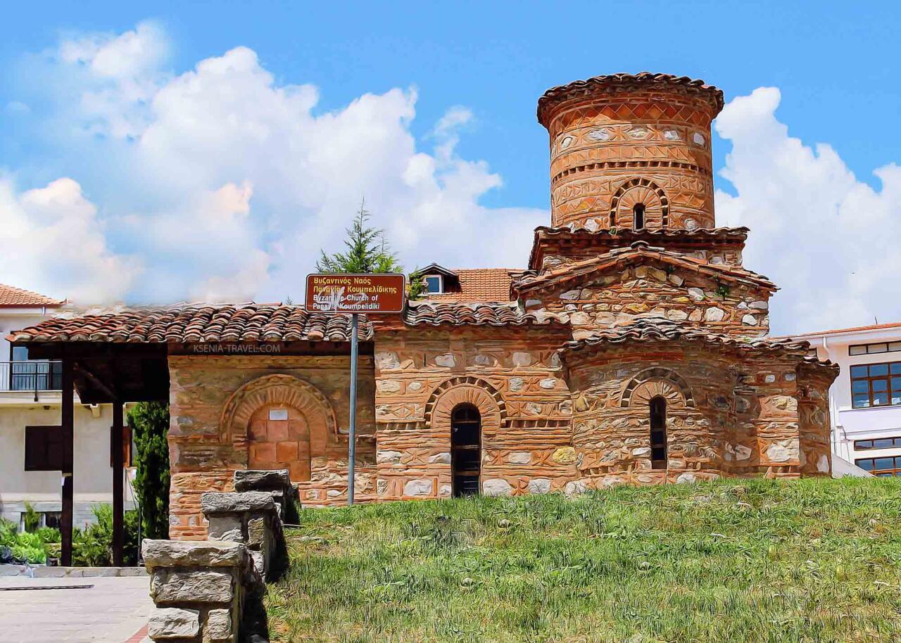 церковь Панагии Кумбеликиди, Город Касторья, экскурсии с частным гидом по Греции