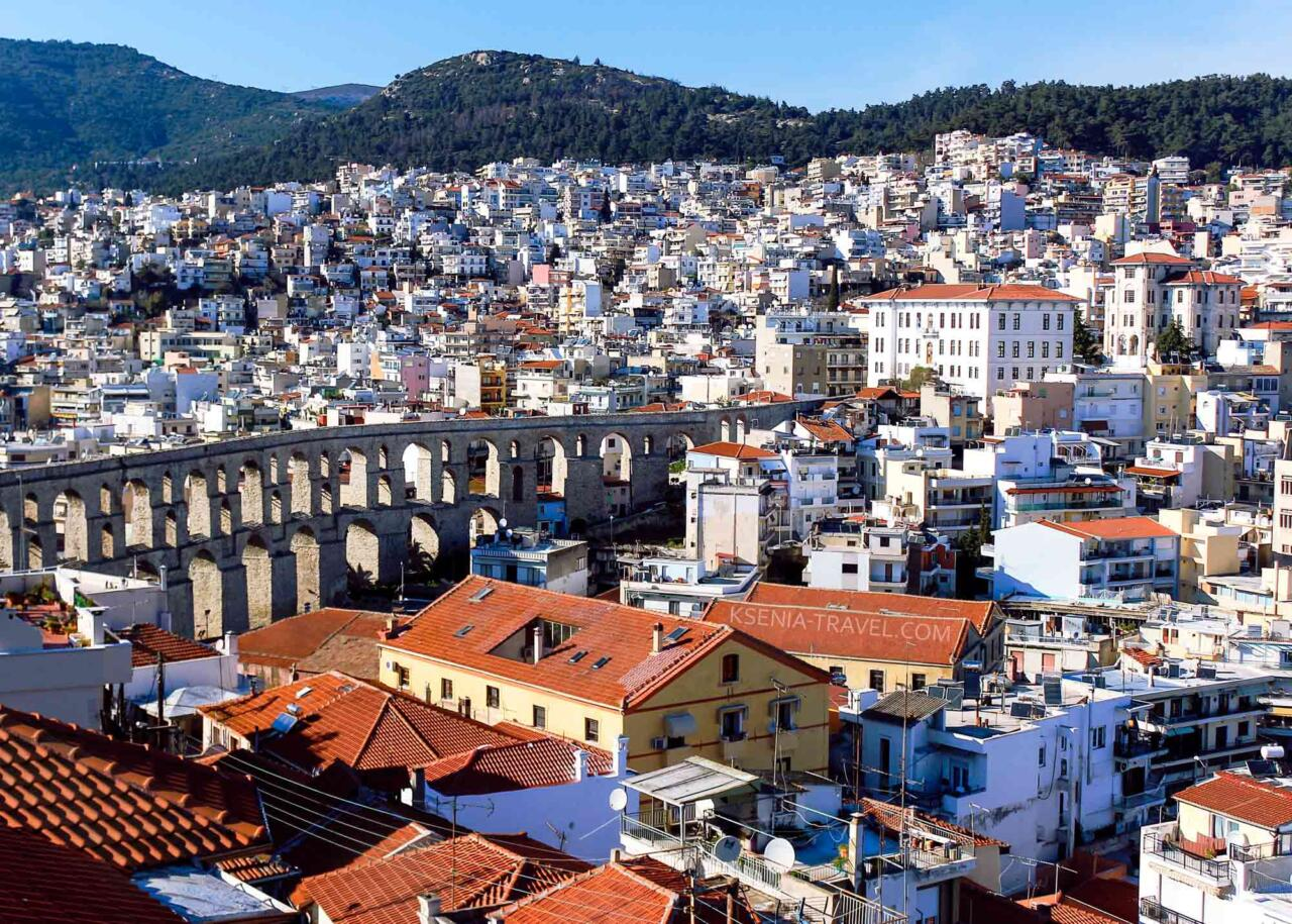 Город Кавала в Греции, гид в Кавале