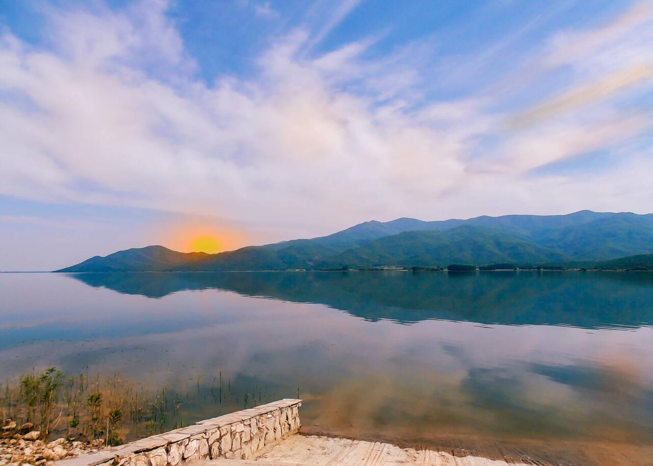 озеро Керкини, Греция
