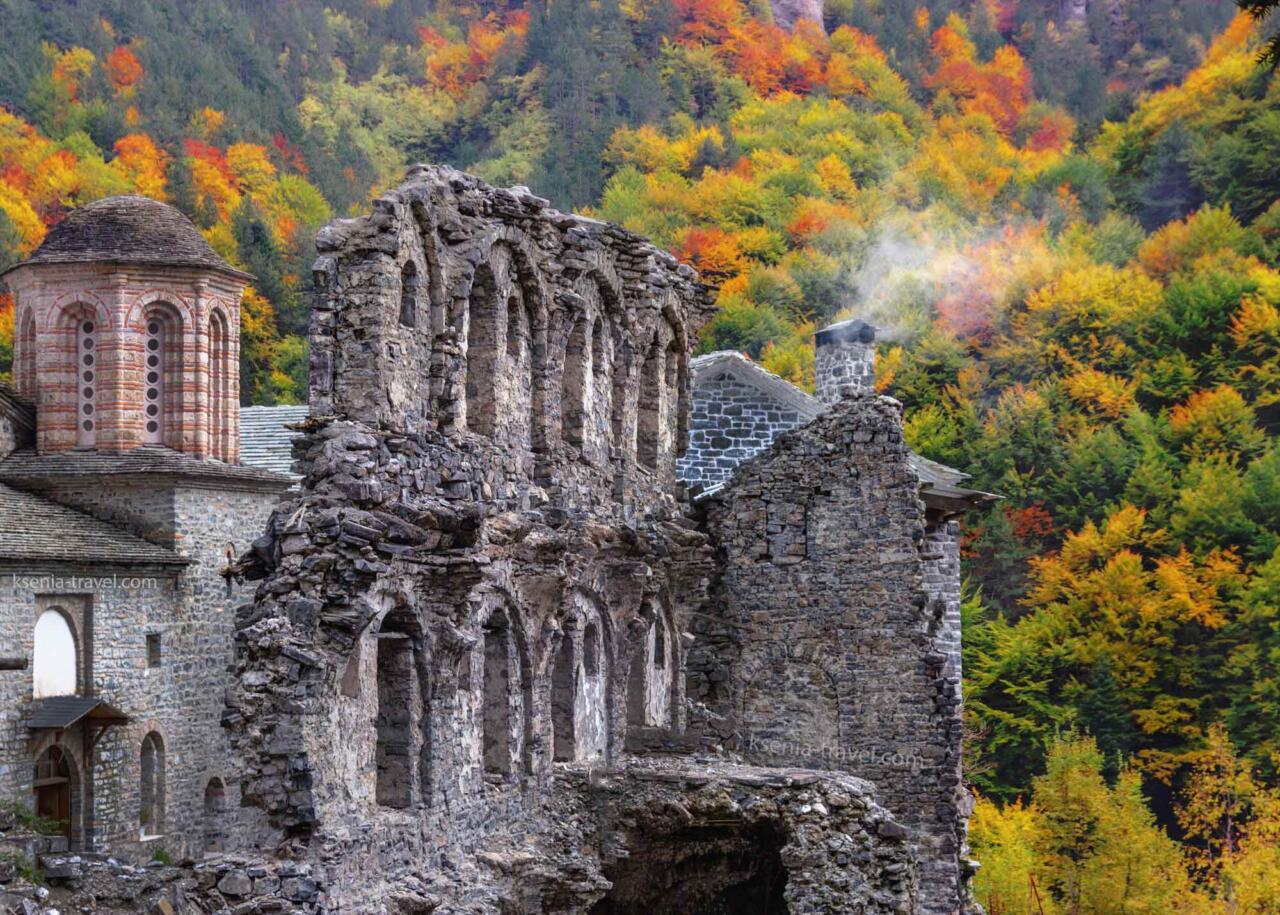 гора Олимп в Греции, монастырь Святого Дионисия, экскурсии на Олимп