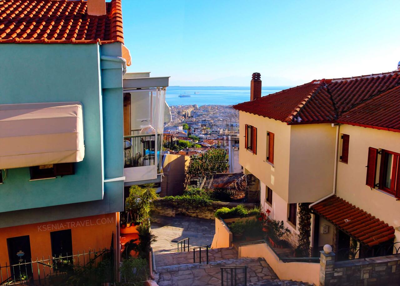 верхний город Салоники, экскурсии по Салоникам