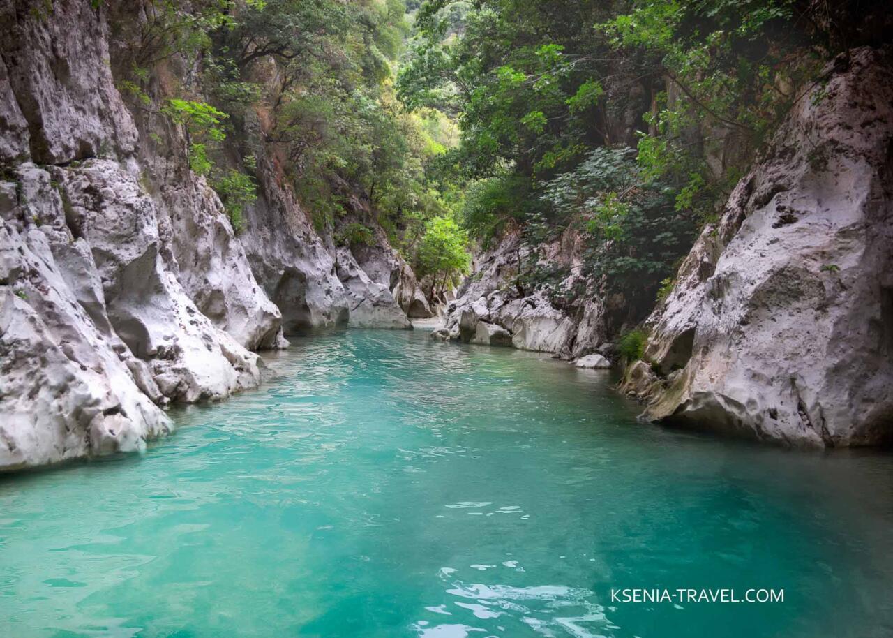 Ахерон - река скорби, экскурсии с гидом из Салоники