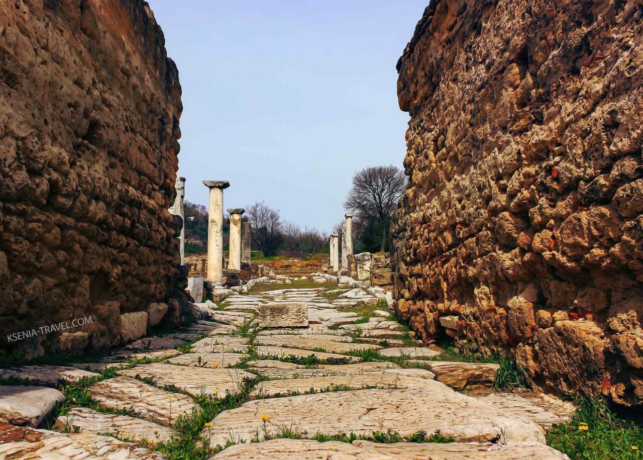 древний город Эдесса - город водопадов