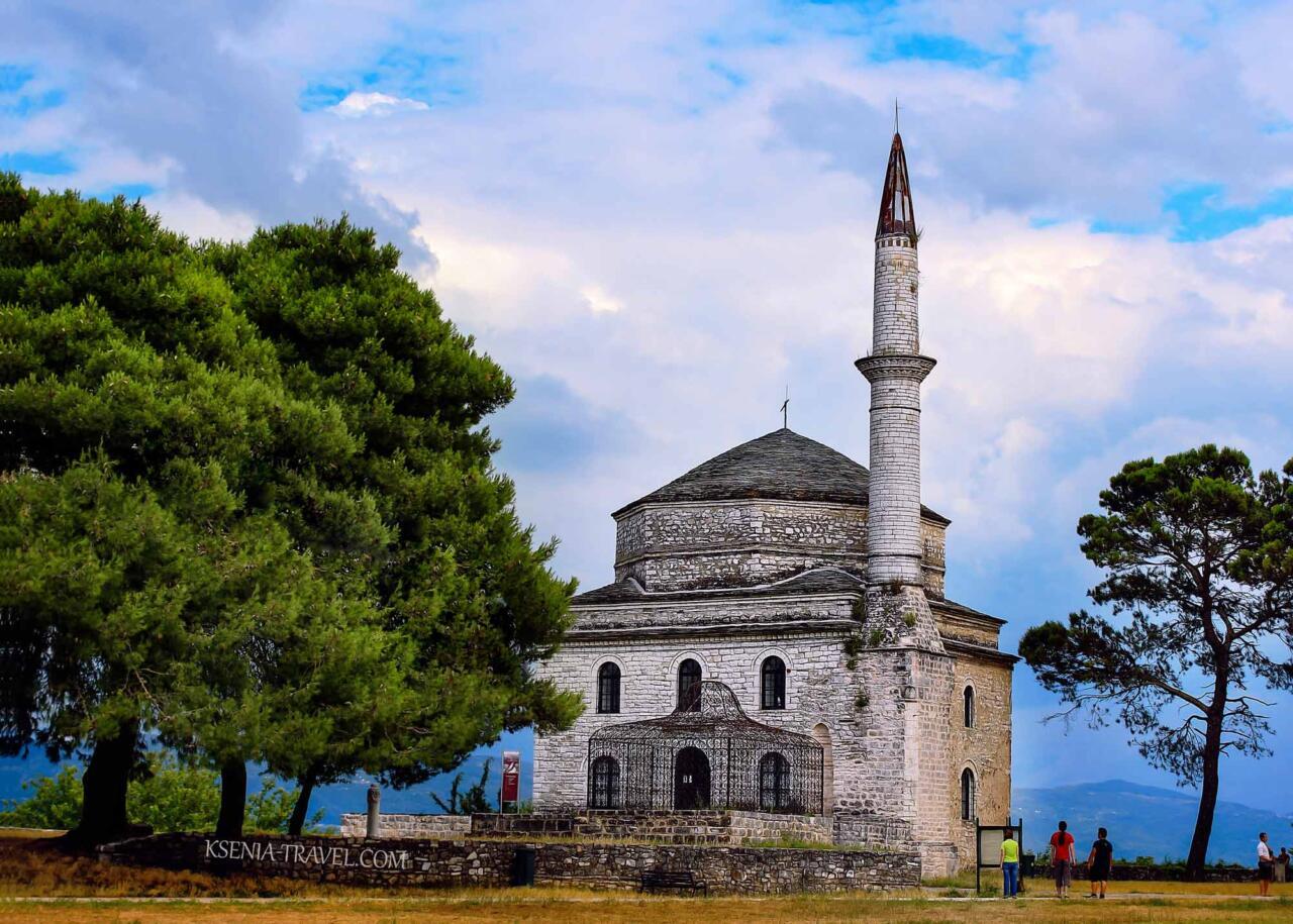 город Янина, область Эпир, Греция, экскурсии в Янину