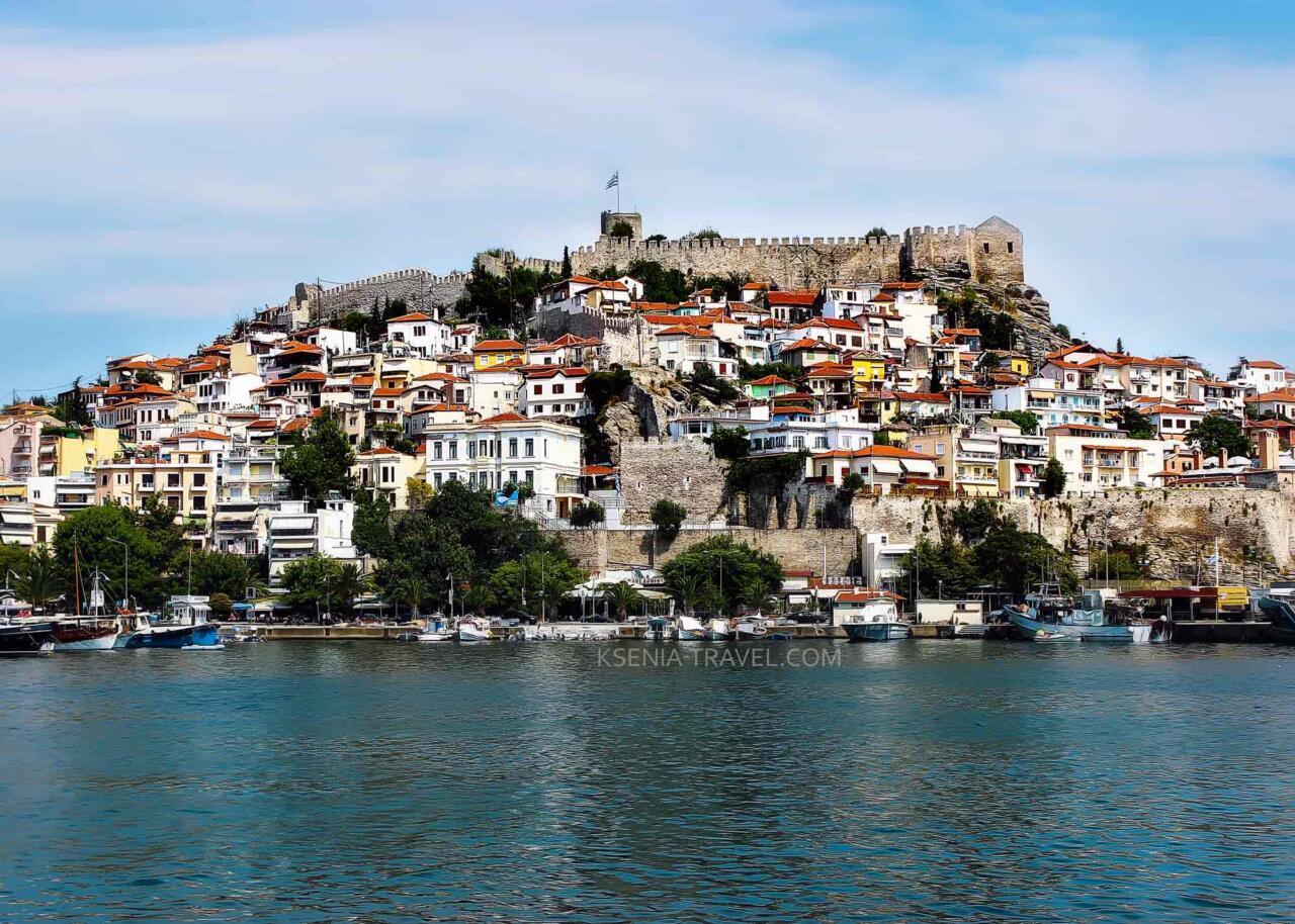 Крепость города Кавала, экскурсии в Греции