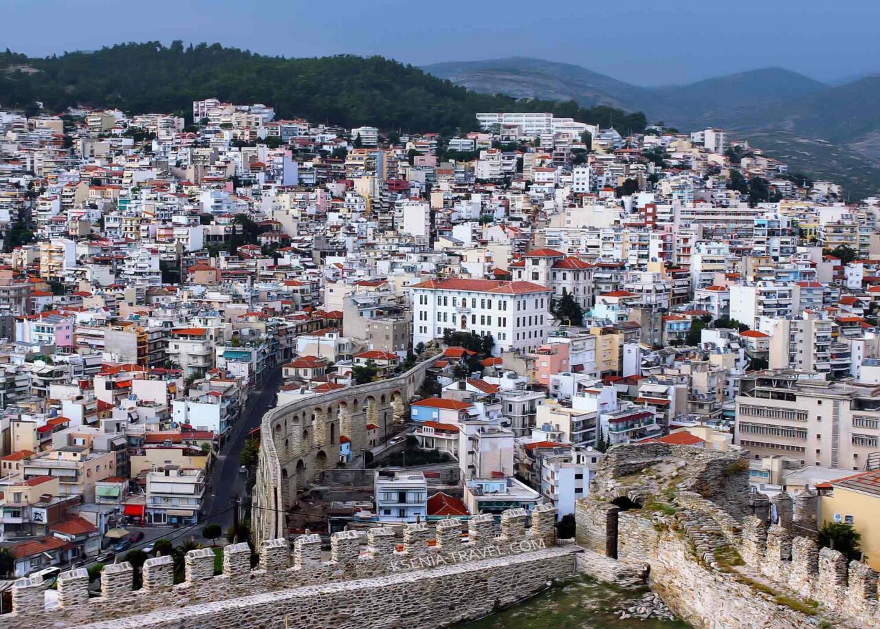 город Кавала, экскурсии в гидом из Салоники