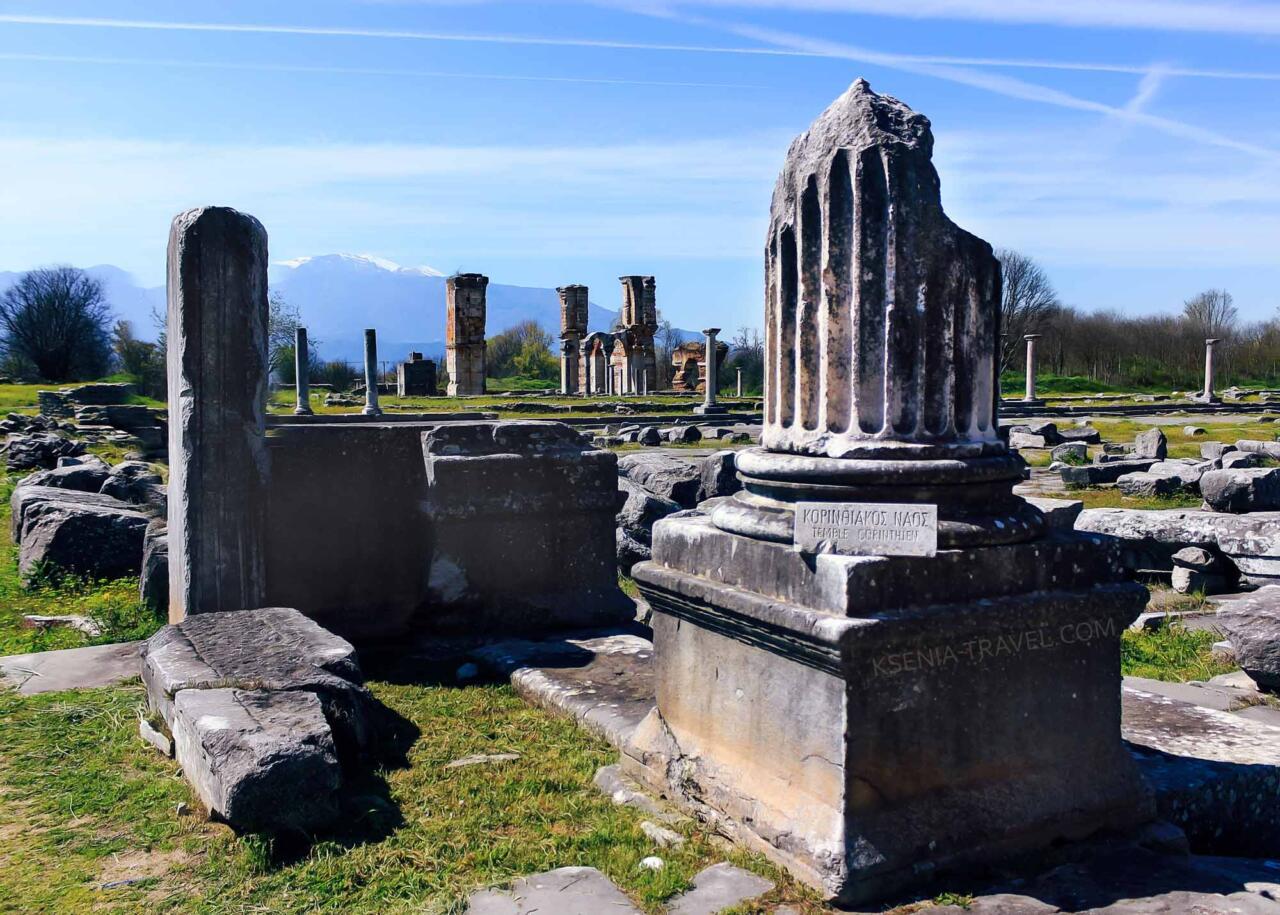 древний город Филиппы, экскурсии из Салоники