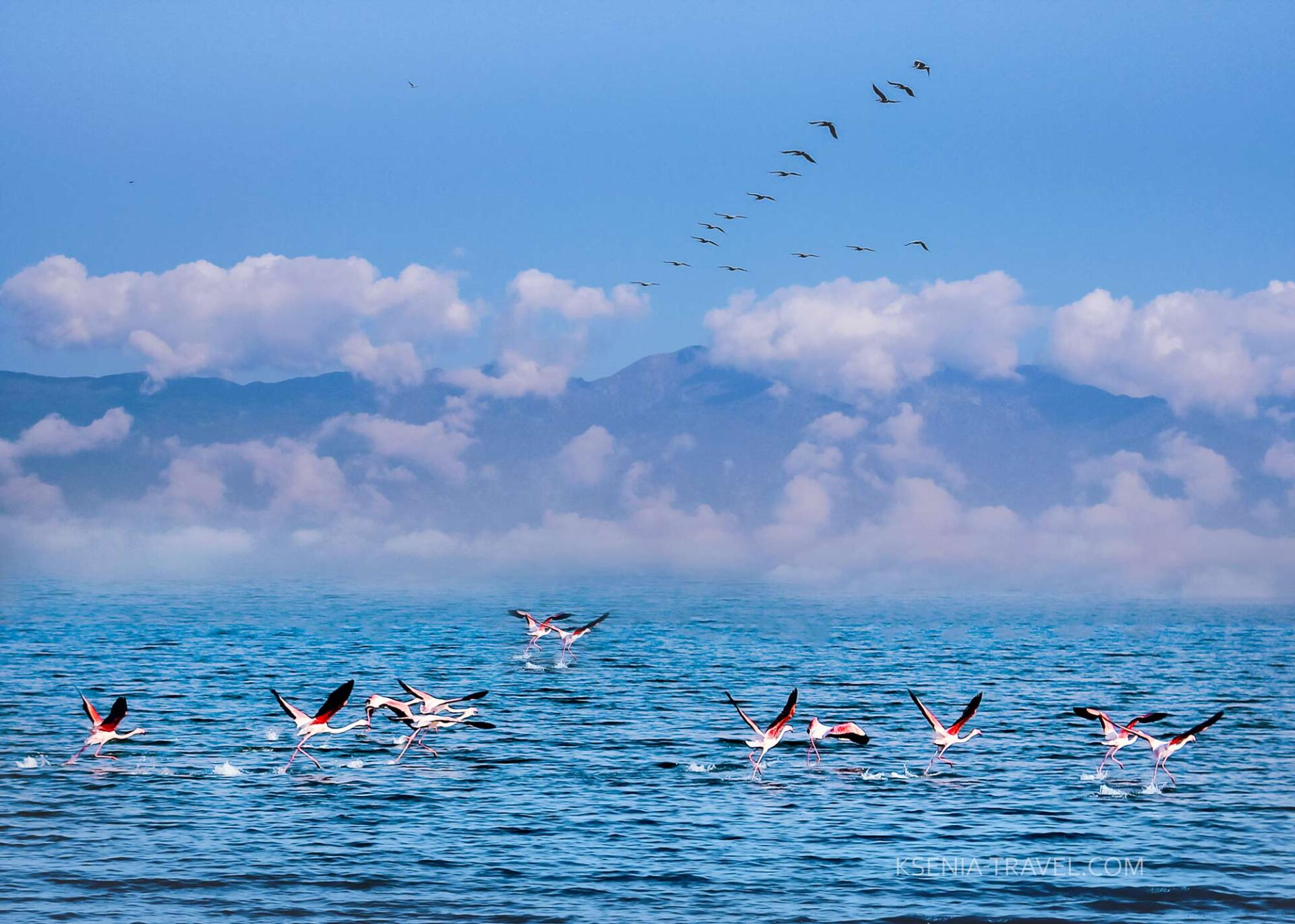 Озеро Керкини и окрестности