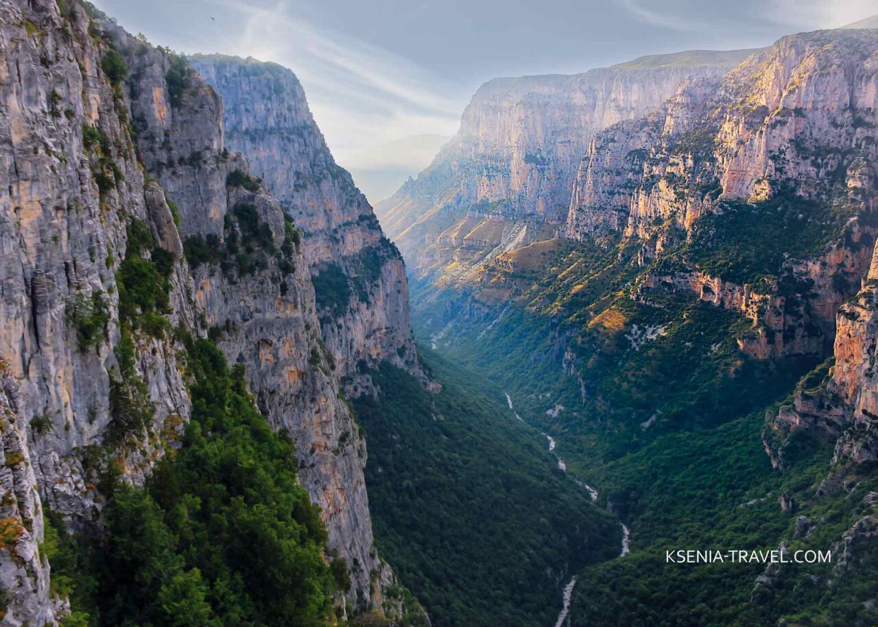 ущелье Викос, Греция