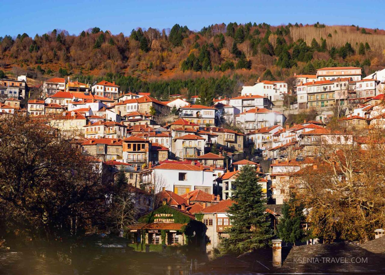 деревни Загорохории, экскурсии в Греции