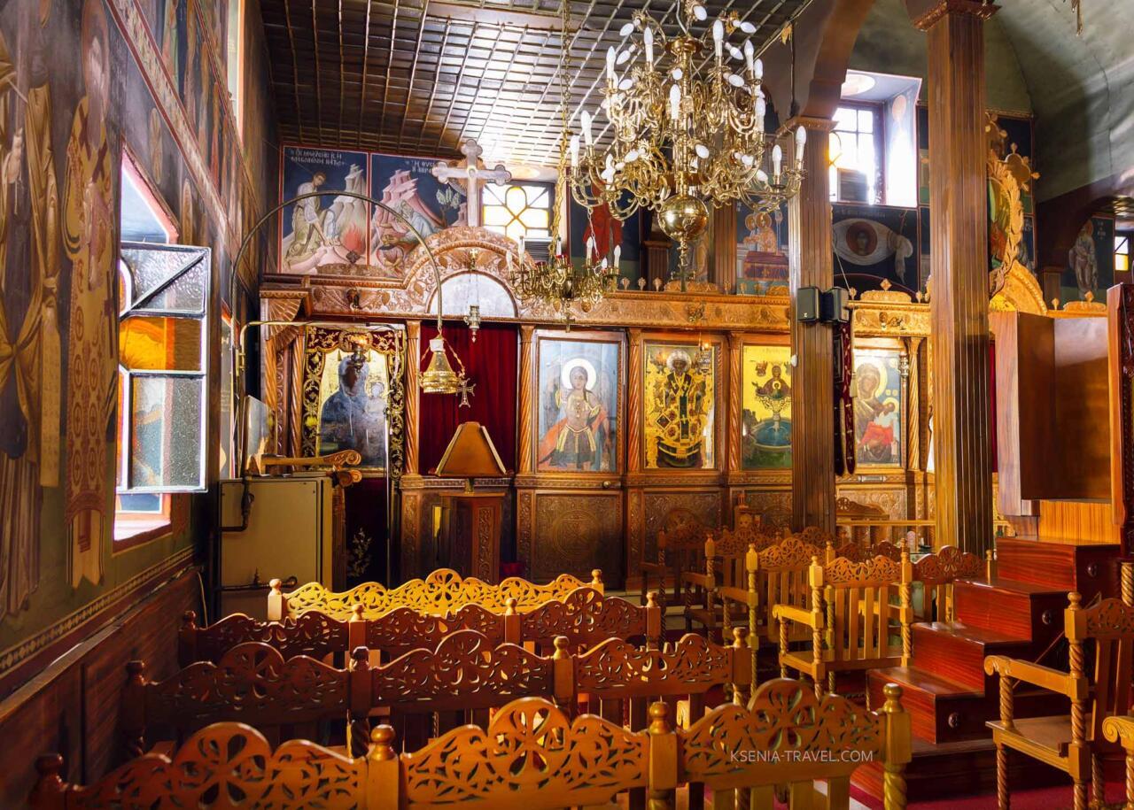 иконостас церкви Панагия Лаодигитрия (Лагудиани), Салоники
